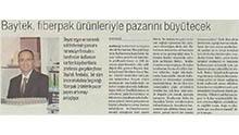 Dünya Gazetesi Ambalaj Eki - Baytek, fiberpak ürünleriyle pazarını büyütecek